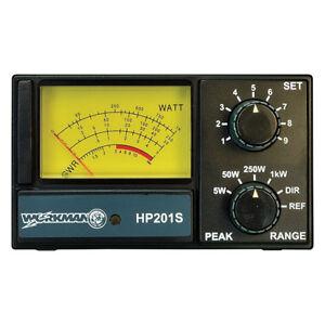 WORKMAN HP201S Workman SWR/Power Meter for CB Radio 5 50 250 1000 Watts