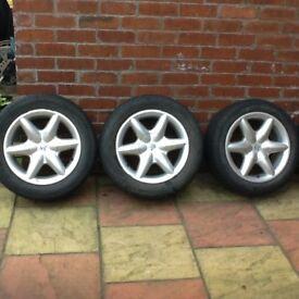 "15"" pegout alloy wheels"