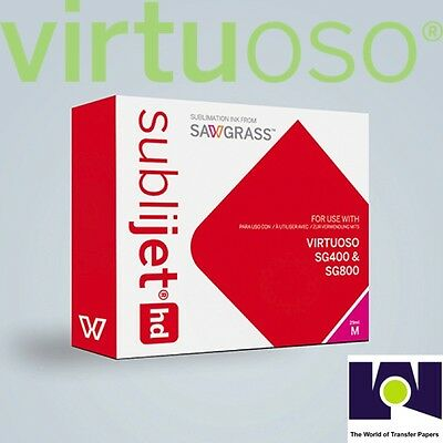 Sawgrass Virtuoso Sublimation Gel Ink Cartridge Sg400sg800 Magenta