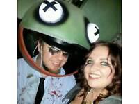 Halloween costume - Deadmau5 mau5head