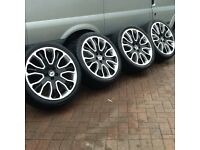 Range Rover Over finch Wheels and Tyres
