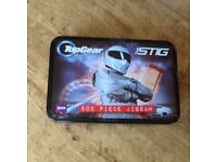 NEW & NOT OPENED TOP GEAR : THE STIG 500 PIECE JIGSAW PUZZLE IN A TIN