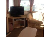 Six berth static caravan to let in coullmore bay Inverness