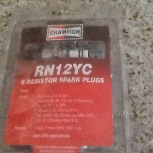 Brand new champion RN 12YC resistor spark plugs Seaview Downs Marion Area Preview