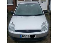 Ford fiesta 1.3 03 plate
