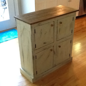 Hand Crafted Shabby Chic Cabinet