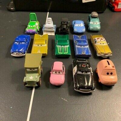 Cars the Movie Disney Pixar Diecast Toy Car Lot
