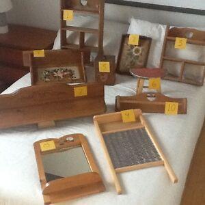 Pieces de bois