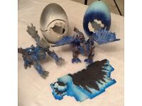 MEGA BLOKS FROST AND ICE DRAGONS