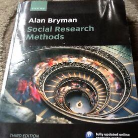 Alan Bryman social research methods