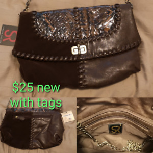 30365dc34a0 Brand new with tag brown clutch purse