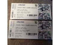 2 x tickets for Queen's Club Tennis FINAL on Sun 24 June - less than face value NO booking fee