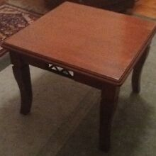 Square small coffee / side table, ex condition. Macclesfield Mount Barker Area Preview
