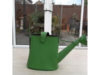Quirky Green Leather Watering-Can Hand Bag