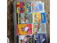 Very large box of children's books plus DVD
