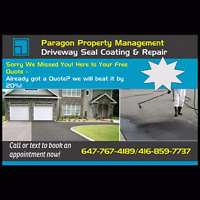 PARAGON Driveway and Interlock sealing & Lawn care