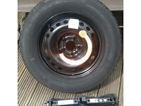 Genuine Jeep Renagade Space SaverWheel Kit Replaces the factory Fitted inflation Kit.