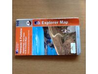 Ordnance Survey Maps.21 Explorer Maps for Sale.For Walking,Hiking & other Outdor Activities