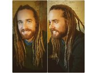 DREADLOCKS: ORGANIC NATURAL HAND-MADE/CROCHET TECHNIQUE . Holistically creating, caring and loving