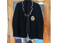 Girls 6th year prefect inverkeithing high school blazer size 11 chest 33
