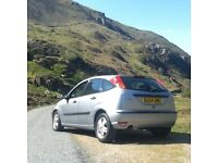 Ford Focus 2004, 5 door 1.6 petrol. All major services done