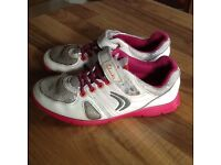 Girls Clarkes trainers size. 10. 1/2. G