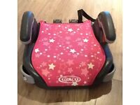Graco group 2-3 booster seat - pink - excellent condition