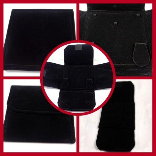 15x15 Cm. Black Foldable Necklace Jewelry Beautiful Gift Box T45