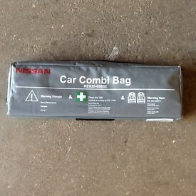 Genuine Nissan Car Emergency Safety Kit with Combi Bag