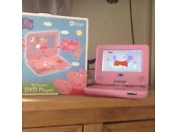 Peppy Pig DVD player and CDs