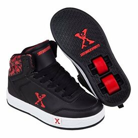 Sidewalk Sport Hi Top Boys Skate Shoes (Two pairs)