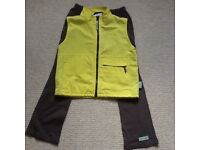 Brownie gilet and trousers