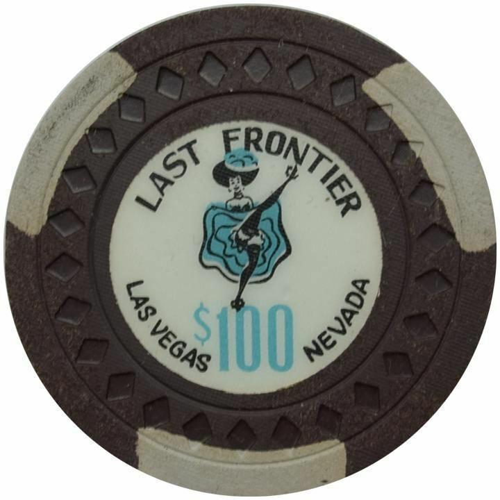 Last Frontier Casino Las Vegas NV $100 Chip 1959