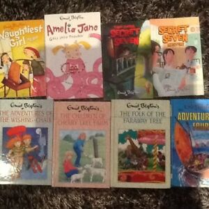 Enid Blyton - Famous 5, advent 4, Amelia Jane, secret 7