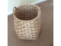 Wicker laundry/storage basket from next in excellent condition