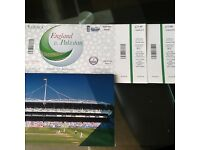 ***Pakistan v. England ODI LORDS TICKETS*** QUICK SALE!!