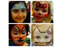 Mona's Face Painting (£25 per hour or £3 per face)