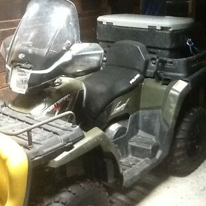 Used 2008 Polaris Sportsman X2 500 EFI 4X4