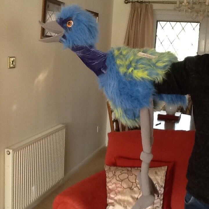 Emu giant hand puppet