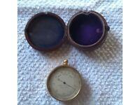 Antique Pocket Barometer