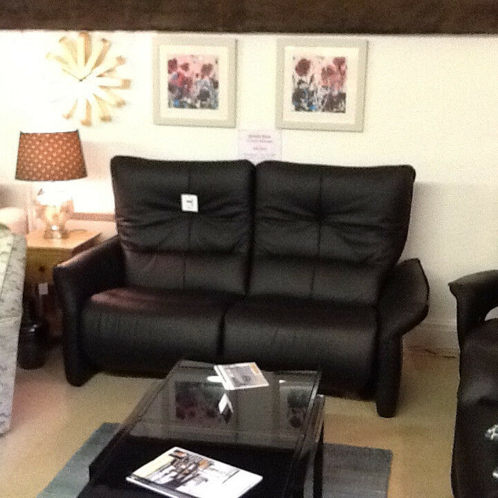 Himolla Brent Electric Wall-Hugger - Ex Display - Black Long Life Leather