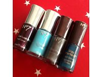 No. 7 nail polish bundle X 4. All new or used once just to try out.
