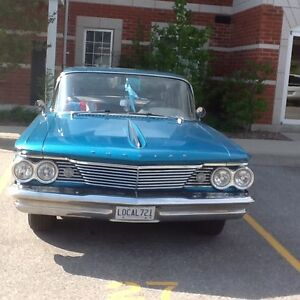 FOR SALE DUE TO ILLNESS-1960 PONTIAC LAURENTIAN
