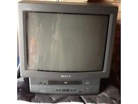Sony Tv and Video combo