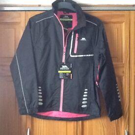 Trespass jacket Black/pink size L