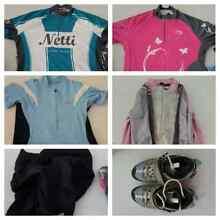 VGUC women's cycling clothing & shoes