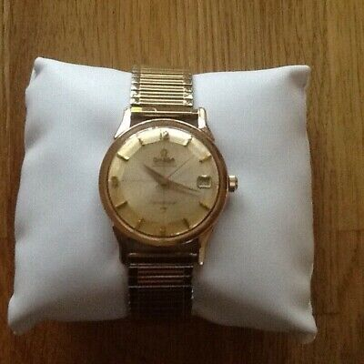 Vintage Omega Constellation Pie Pan Automatic Chronometer Watch