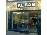Kebab shop great opportunity for own business