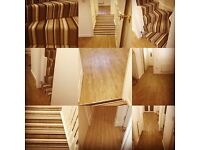 Carpet/vinyl fitter also laminate,safety flooring