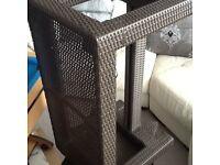 Rattan Brown Outdoor / Indoor Benches